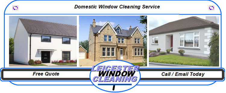 Domestic Window Cleaning Service for Leicester