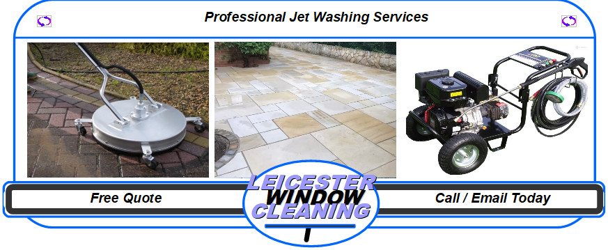 Jet washing And Solar Panel Cleaning- by Leicester Window Cleaning